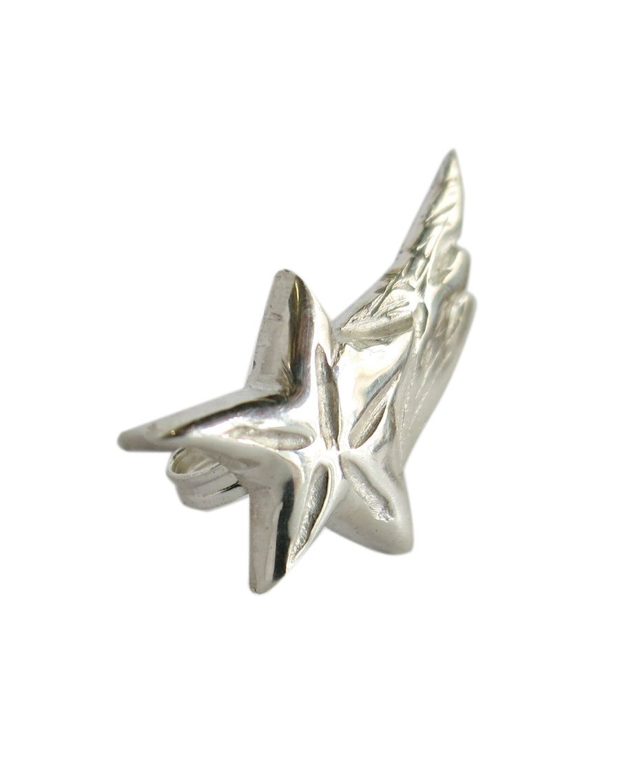 Shooting Star Earring Silver