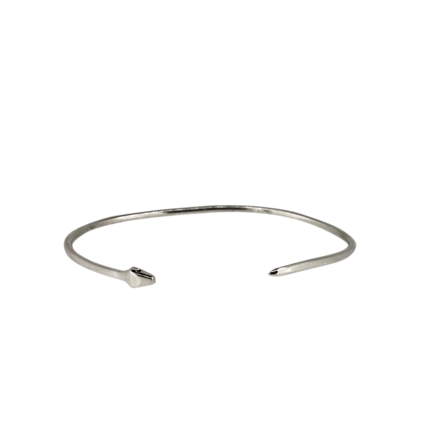 Serpent Eternity Cuff Silver - Serpent & the Swan