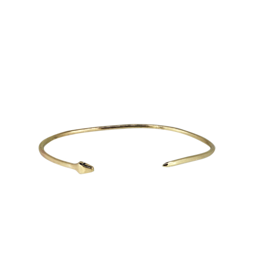 Serpent Eternity Cuff Solid Gold - Serpent & the Swan