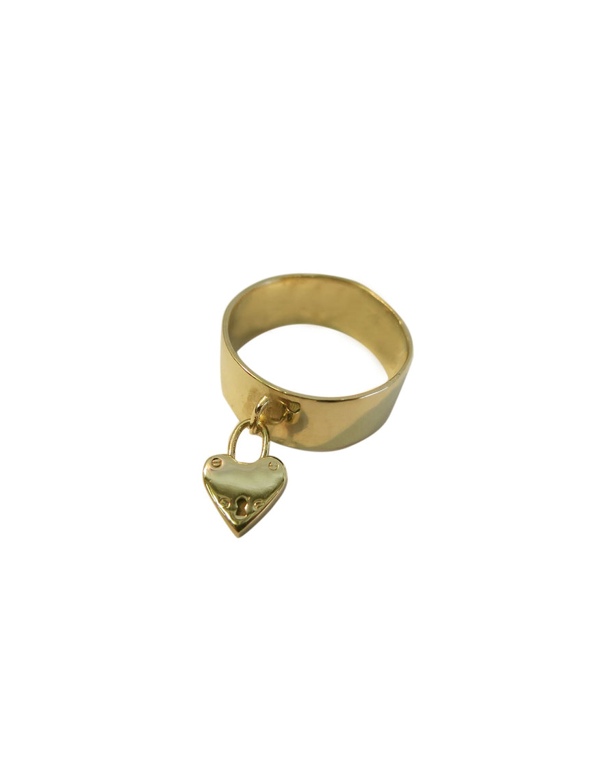 Lock My Heart Ring 9ct Gold - Serpent & the Swan