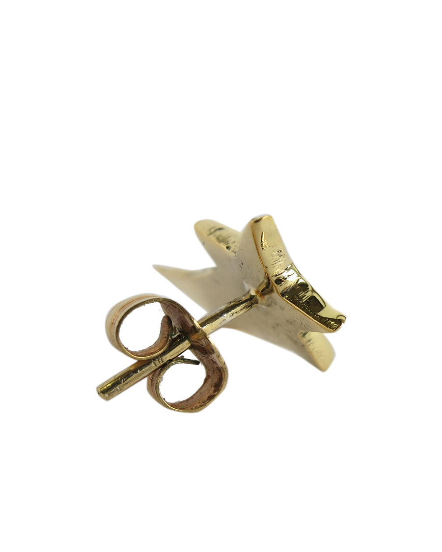 Shooting Star Earring Gold