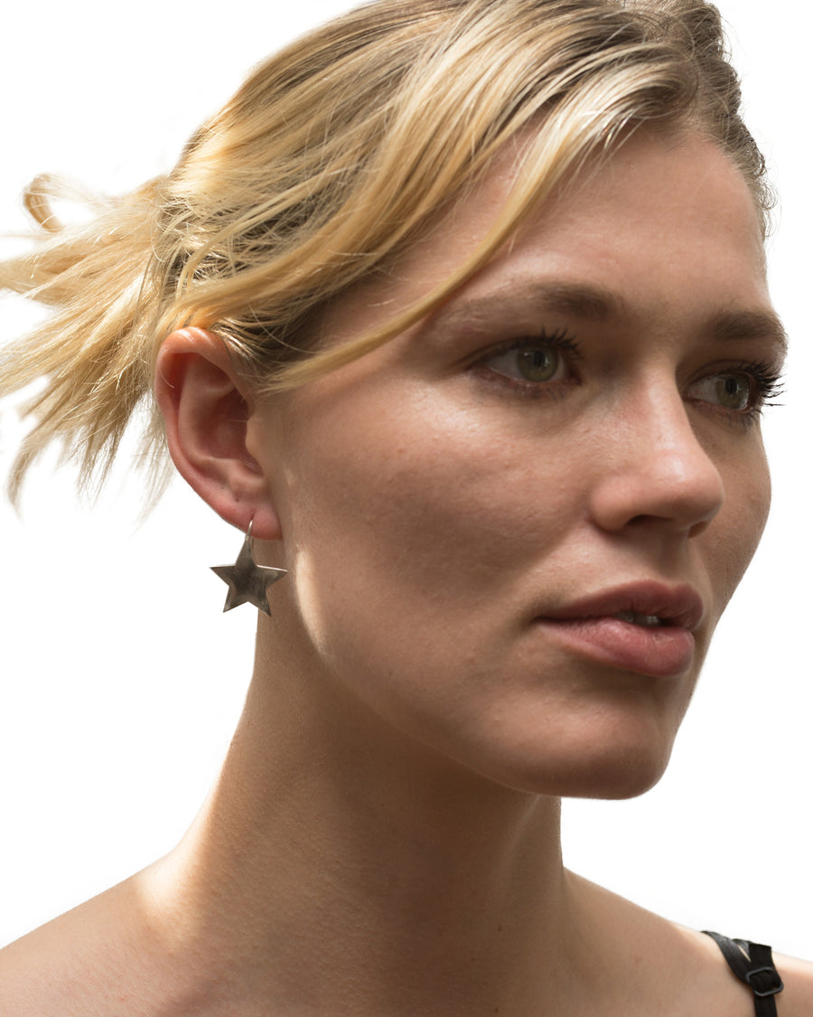 Star Bright Earring Silver - Serpent & the Swan