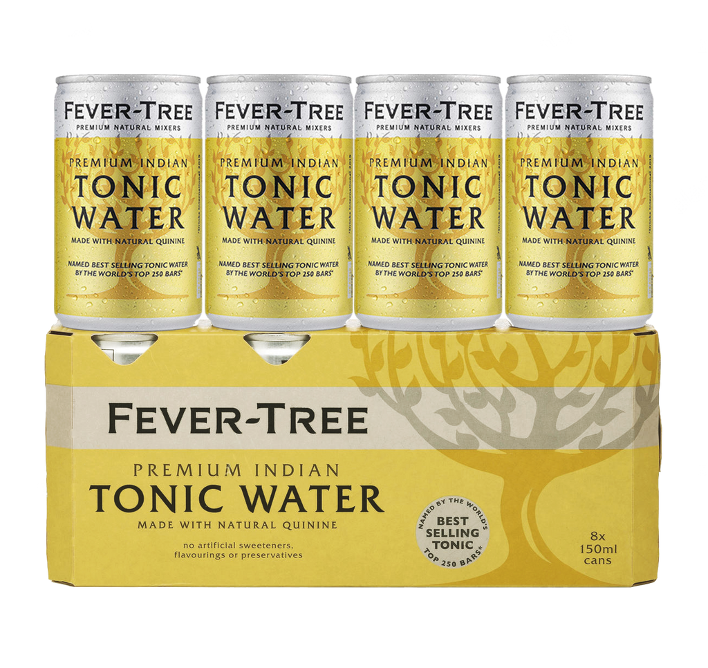 Fever Tree Tonic (8x 150ml cans)