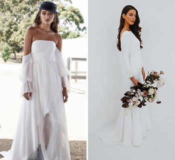 Five Wedding Dress Trends for 2019 Brides