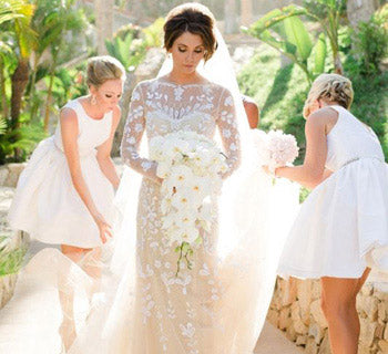Can My Bridesmaids Wear White On My Wedding Day?