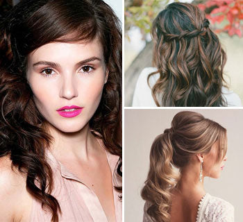 Glamorous Hairstyles for the 2016 Party Season