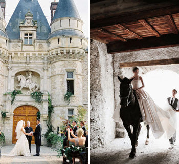 Romantic Inspiration For A Castle Wedding