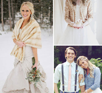 It's a Wrap: How to Keep Warm in Style on Your Wedding Day