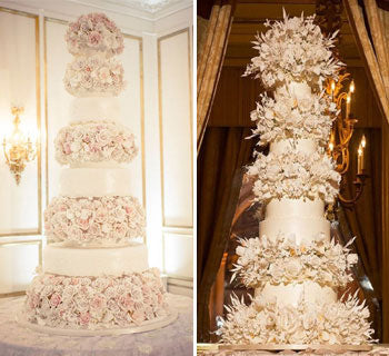 15 Of The Most Lavish Wedding Cakes Ever