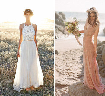 Beach Wedding Dresses You'll Fall In Love With