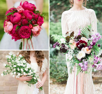 A Guide To Wedding Bouquet Shapes