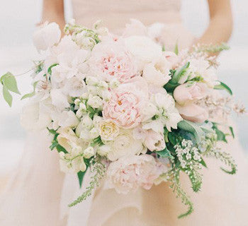 The Most Romantic Blush Wedding Flowers