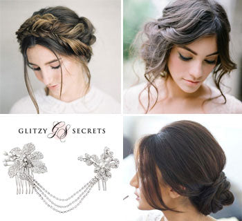 Soft and Flattering Wedding Up-Dos for 2017
