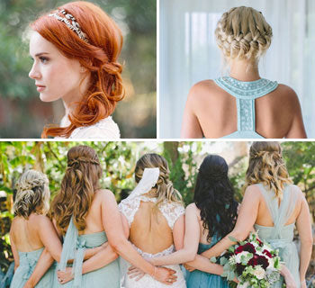 Hairstyle Ideas for Bridesmaids