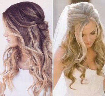 Romantic Half Up Dos: The Perfect Bridal Hairstyle?