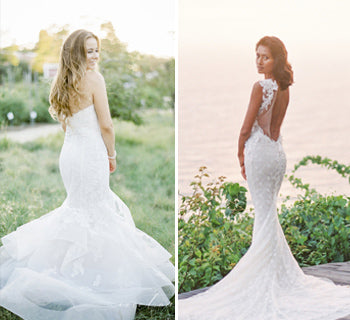 Mesmerising Mermaid Wedding Dresses