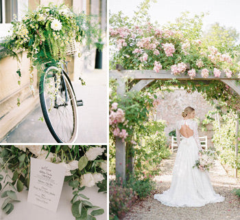 Modern Ideas for a Country Garden Wedding Theme