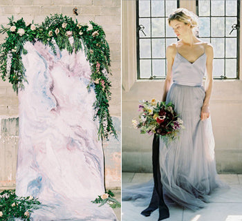 Modern Marble Wedding Inspiration