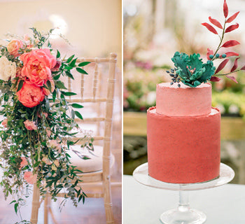 Pantone Colour of 2019: Living Coral Wedding Ideas