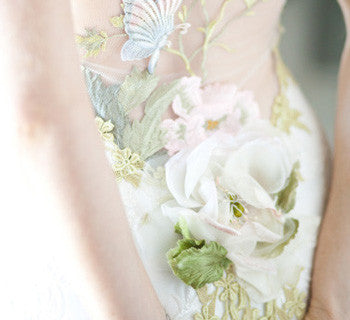 Wedding Dresses - Pretty Pastels and Soft Hues