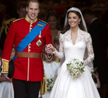 A Classic Royal Wedding Dress for Kate Middleton, Grace Kelly and Princess Margaret