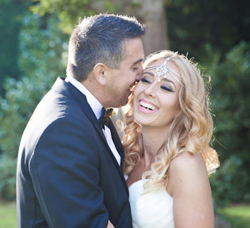 Sarina and Jamie's wedding captured by Kerry Ann Duffy