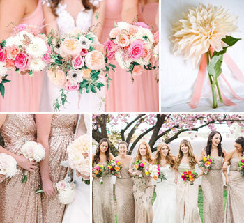 Pretty Posies – Inspiration for Your Bridesmaid Flowers