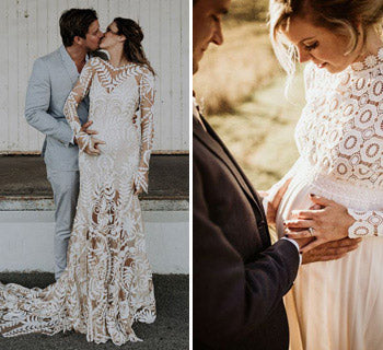 Maternity Wedding Dresses: Look Fabulous With Your Bump