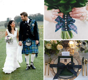 How To Include Tartan In Your Wedding