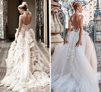 The Most Romantic Frothy Tulle Wedding Dresses