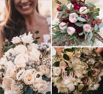 5 Top Florists - Winter Wedding Bouquets