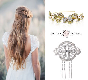 The Best Hair Accessories to Bejewel Your Bridal Braids