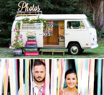 Photo Booth Ideas for a Wedding Day to Remember