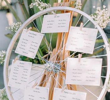How to plan the seating at your wedding tables