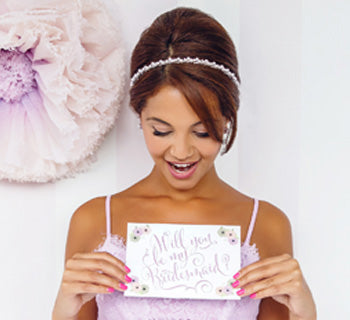 10 'Will You Be My Bridesmaid?' Ideas