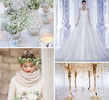 Winter Wonderland or Festive Rustic: What's Your Wedding Style?