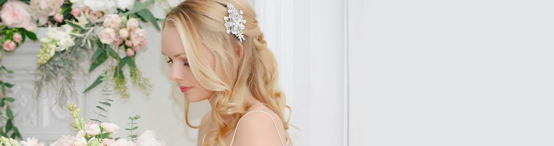Crystal Wedding Hair Clips