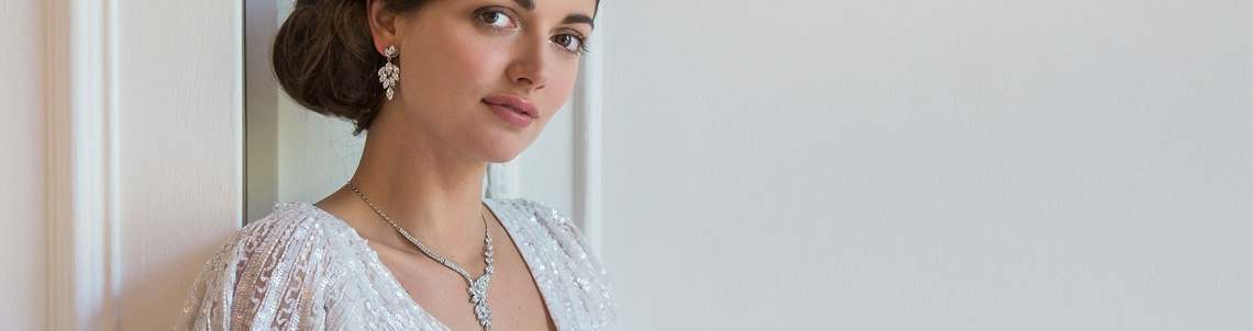 Crystal Wedding Jewellery Sets