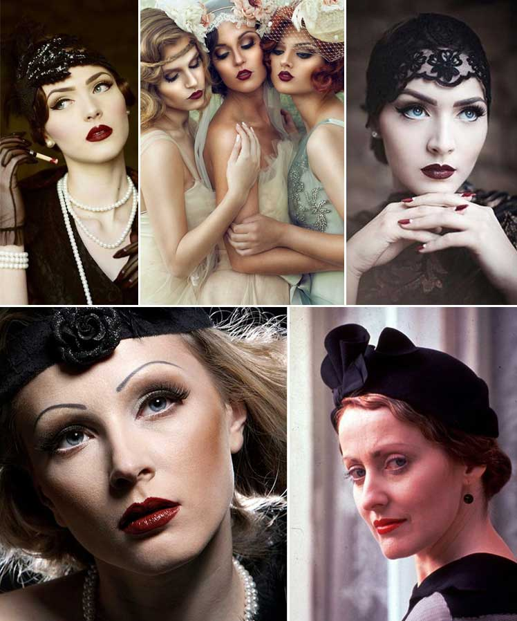 fabulous make up styles from the 1920s and 30s