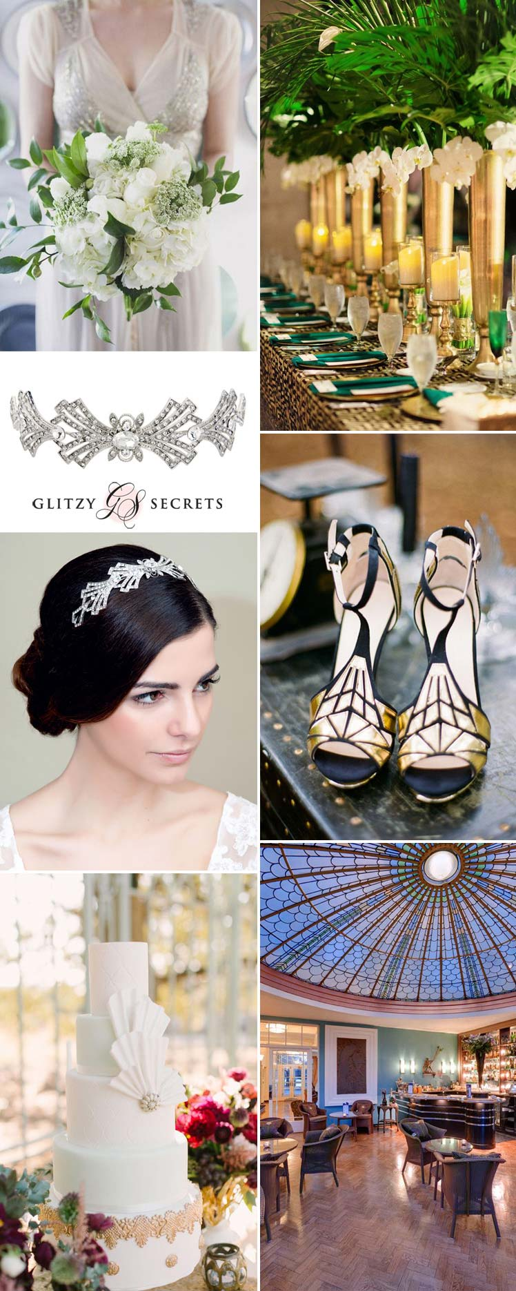 Vintage Art Deco inspiration for your wedding theme