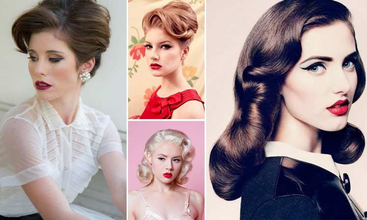 Make up ideas for a vintage look