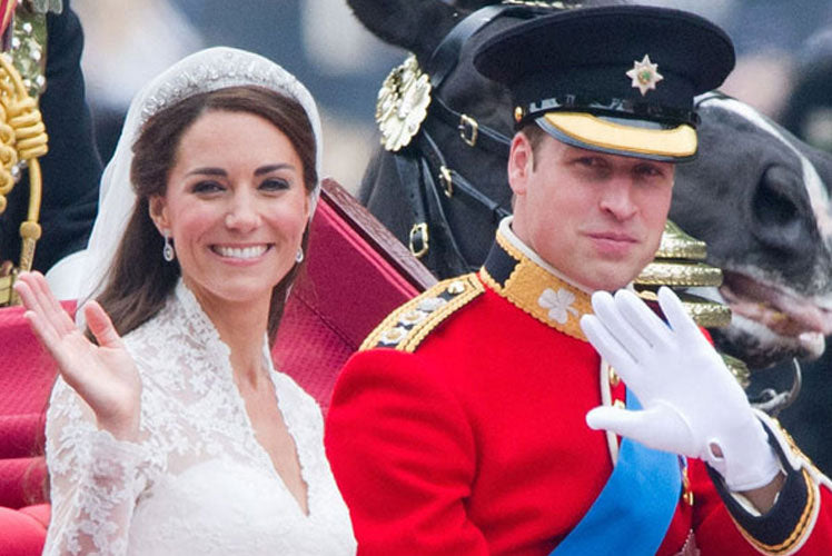 The epitome of British weddings - Prince William and Kate