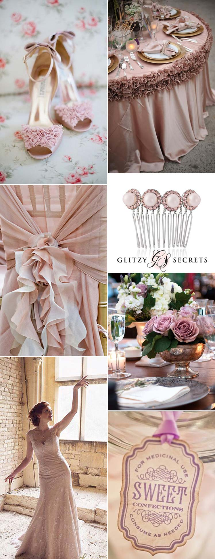 Antique Rose Wedding Inspiration