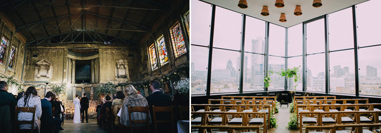 London Wedding Venues - Asylum Chapel and Ace Hotel