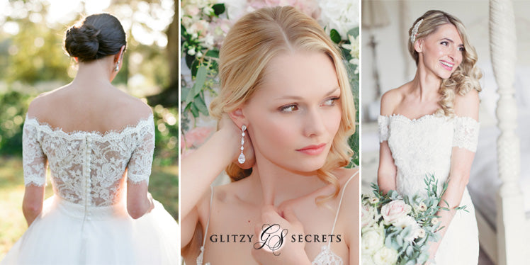 Jewels to enhance the Bardot bridal trend