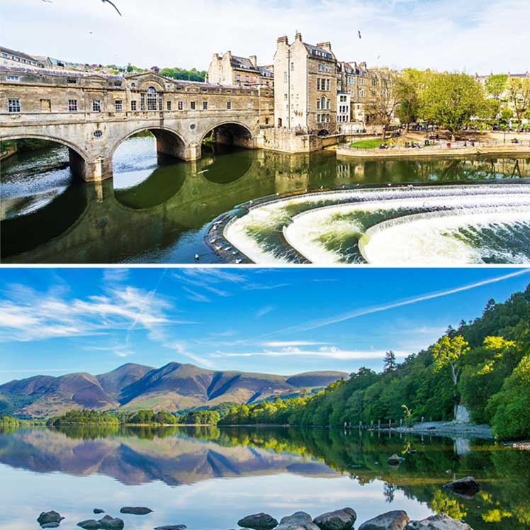 Bath and Lake District