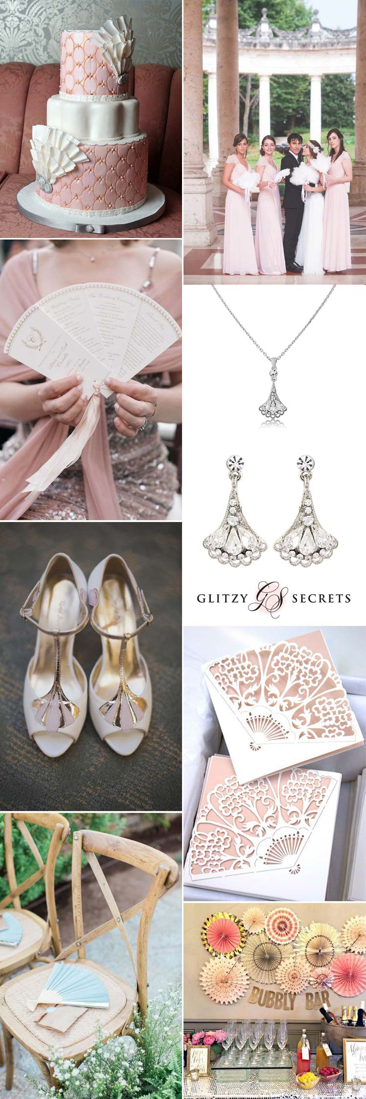 Amazing fan details for your wedding