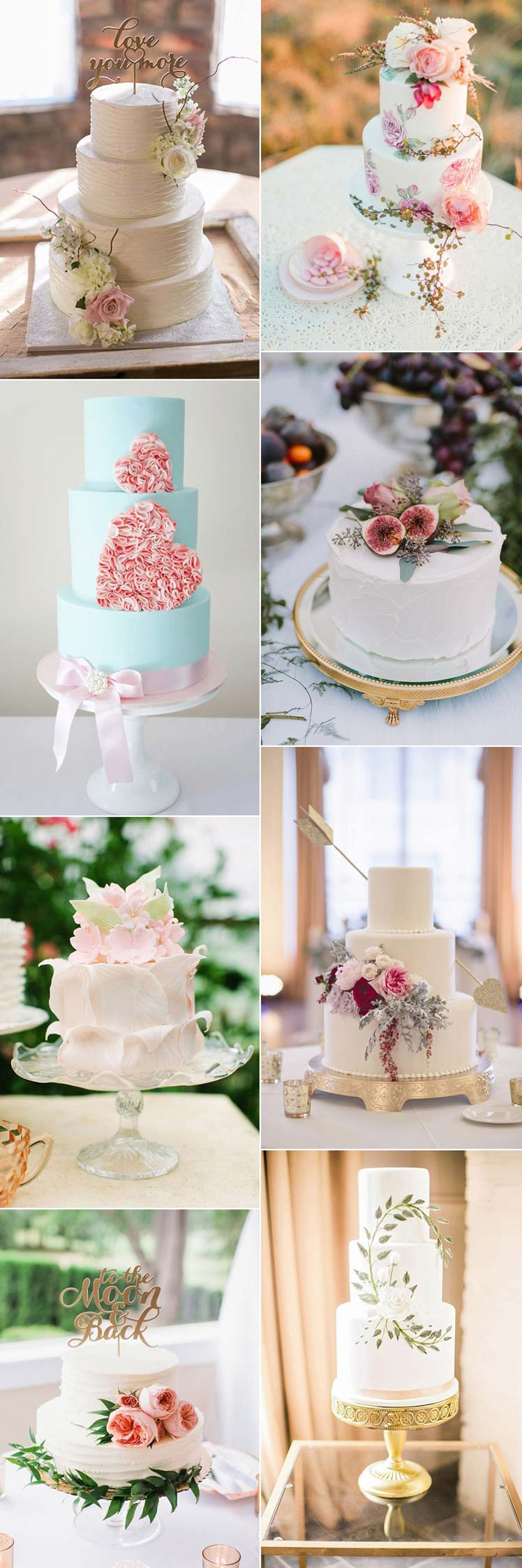 wedding cakes for a valentine wedding