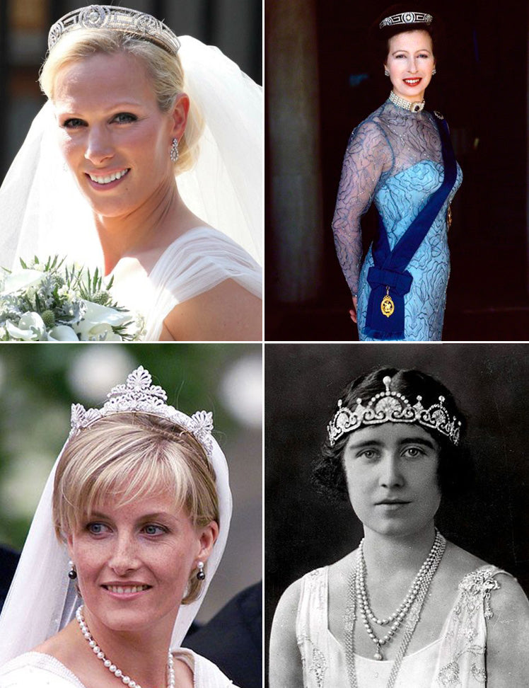 Stunning royal tiaras worthy of british princesses