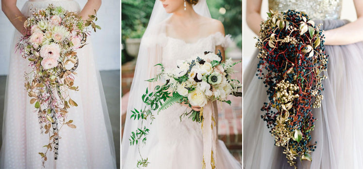 Vintage inspired oversized bridal bouquet ideas